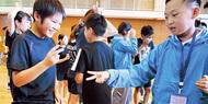 中国の児童らと交流