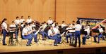迫力ある演奏を披露する横浜市消防音楽隊