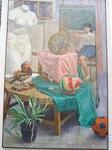 松澤薫さんが描いた油絵の作品