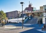 現在の北口駅前(2月5日撮影)