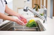 食器洗いで手が潤う