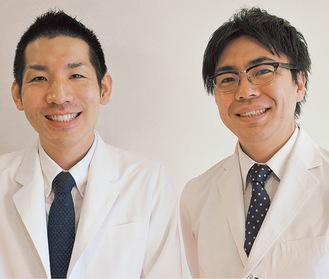 大塚医師(左)と浅井医師(右)