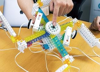 プログラミングで動くロボット