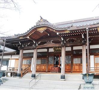 大林寺の本堂