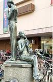 巨匠の彫刻が町中に