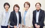 今尾光子代表取締役(右から2人目)と同社社員