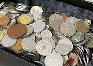 外国の硬貨、「買います」