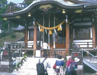 昨年の様子(王子神社)