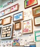障害者アート展を開催中