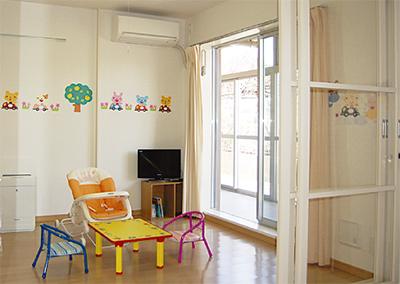 区内初の病児保育室