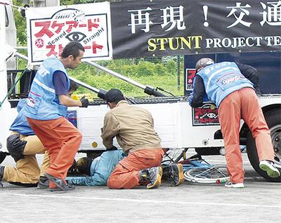 小学生の事故防止に一役