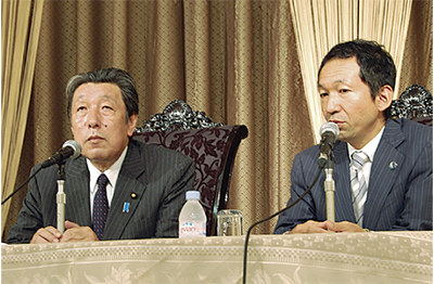 「日本全体で東北の復興を」