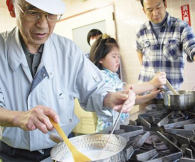 81歳のチーズ作り名人
