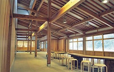 里山の文化学べる新施設