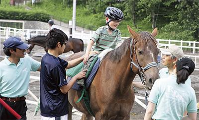 障害児・者にも乗馬を