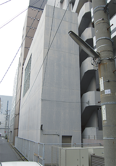 2カ所に津波避難路