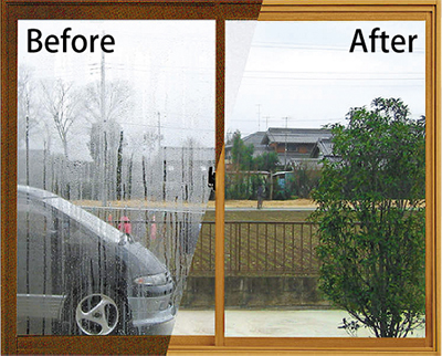 結露は二重窓で簡単解決