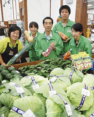 地元野菜の直売所「四季菜館」