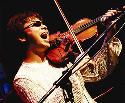 増田太郎さんがライブ