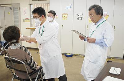 初の口腔がん検診を実施