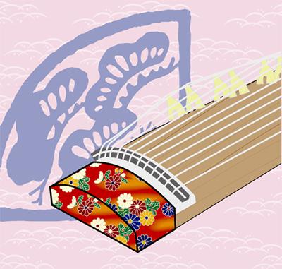 和楽器のミニライブ