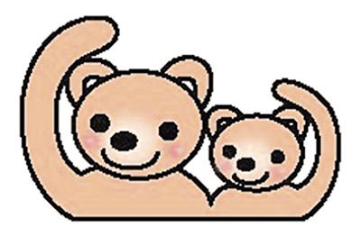 熊の親子の名前募集