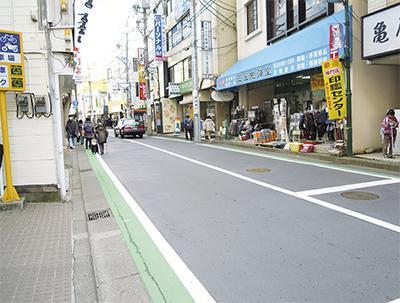 中山駅南口の道路整備