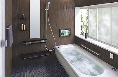 お風呂選びは「10年、20年先を考えて」
