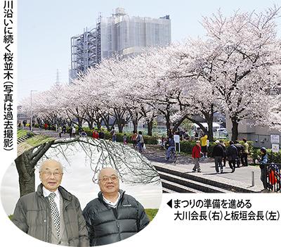 初の桜まつり開催へ