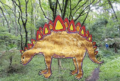 森の恐竜を作ろう