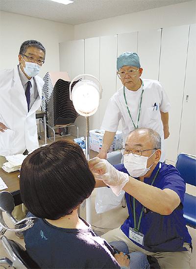口腔がん検診を実施
