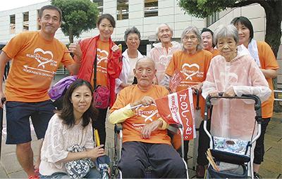 103歳池田さん見事完走