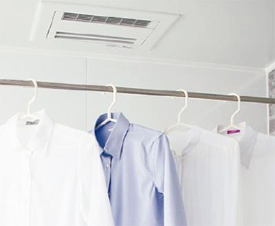「浴室乾燥暖房機が人気です」