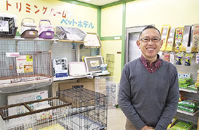 補助犬利用者に店舗開放