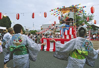 夏を彩る長津田盆踊り