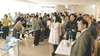 多くの参加者で賑わう会場