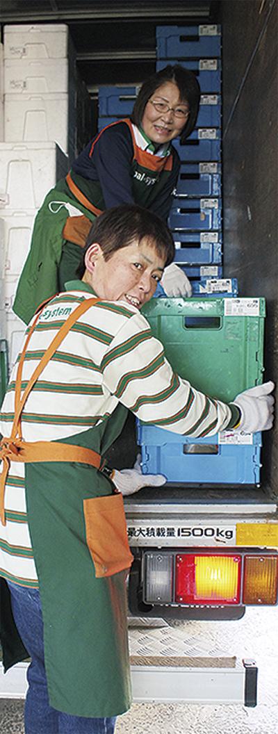 倉庫作業で健康促進
