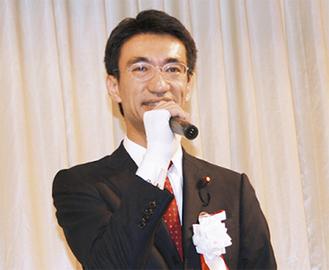 「地域にエネルギーを」と飯田氏