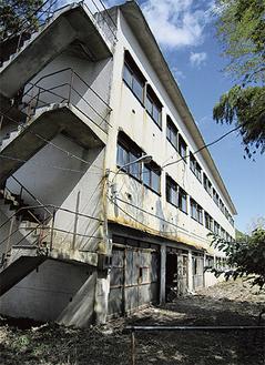 現在の寄宿舎(南寮)
