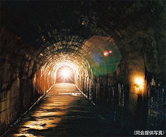 日吉台地下壕の定期見学会(毎月1回、一般公開は無し)問合せ:喜田さん【電話】045・562・0443