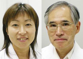 担当医の池谷江利子医師と茂木克彦医師