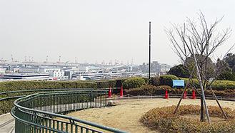 映画の舞台となった港の見える丘公園