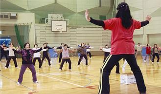 申込者が増えている港北スポーツセンターの定期教室