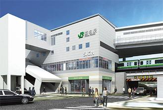 改良後の菊名駅イメージ