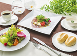 和のエッセンスを散りばめた独創的なフランス料理(料理は一例)