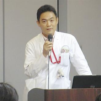 講師を務める十河医師