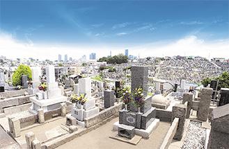 今年募集予定の横浜市営三ツ沢墓地