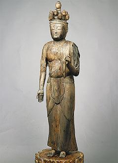 木造十一面観音菩薩立像(写真提供/(株)明古堂)