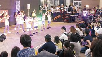 2017年度に補助対象となった、子どもたちによるダンスの企画