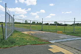 15年に返還された通信施設跡地